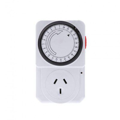 24 Hours Mechanical Electrical Plug Program Timer Power Switch  -  220  -  240V