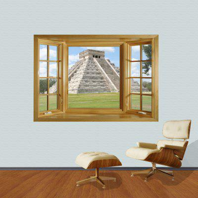 Magic Pyramid Pattern Home Appliances Decoration 3D Wall Sticker