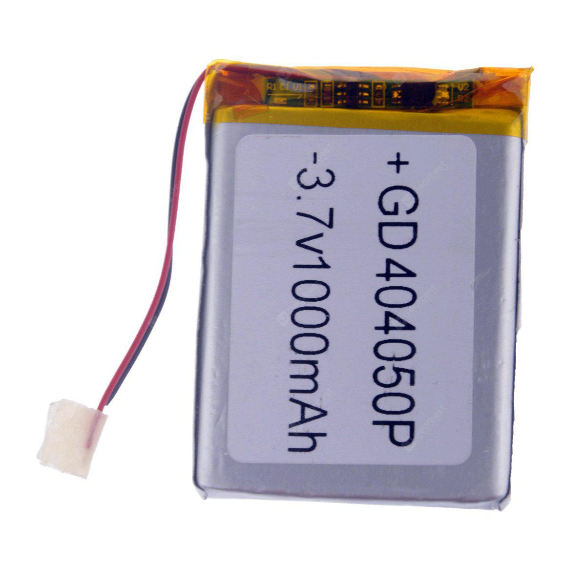 SILVER 404050P Replacement 3.7V 1000mAh Li polymer Battery for Cellphones MP3 MP4 Player
