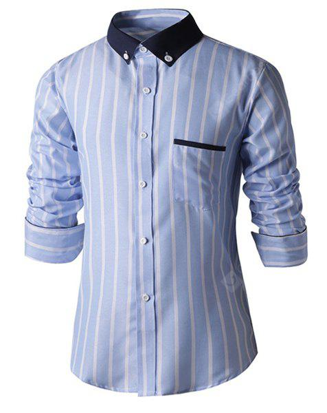 LIGHT BLUE, Apparel, Men's Clothing, Men's Shirts