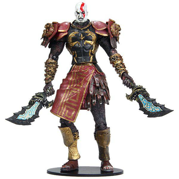 20cm God of War Kratos in Ares Armor with Blade Action Figure