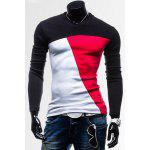 Buy RED, Apparel, Men's Clothing, Men's T-shirts, Men's Long Sleeves Tees for $8.91 in GearBest store