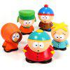 Set of 5 pcs New South Park Butters Kyle Stan Cartman Kenny Action Figures Toy - AS THE PICTURE