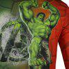 Arsuxeo Humorous T Shirts - RED AND GREEN