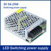DC 5V 5A 25W Driver di alimentazione switching per LED Light Ribbon - ORO BIANCO