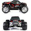 Wltoys A979 1/18 Scale Realistic 4WD 2.4GHz RC Truck Monster Racing 50KMH High Speed Car Model - RED
