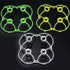 Spare 16Pcs Blades + 3Pcs Protection Frames for Cheerson CX  -  10 / CX  -  10A RC Quadcopter  -  4Pcs / Set - RANDOM COLOR
