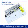24V 1A 24W Switching Power Supply Adapter for LED Ribbon Light - WHITE GOLDEN