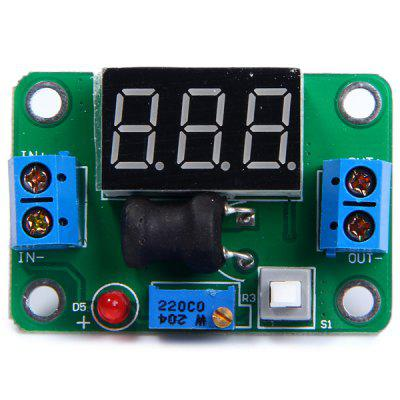 DIY Step - Down Voltage Regulator Module Board with Voltmeter 4.5 - 24V