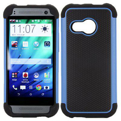 Detachable TPU and PC Material Football Texture Protective Back Cover Case for HTC One M8 mini
