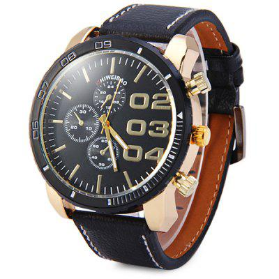 Shiweibao A3139 Fashion Dial Male Quartz Watch