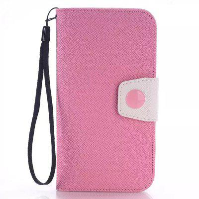 PU and TPU Material Contrast Color Phone Protective Cover Case for Samsung Galaxy S6 G9200