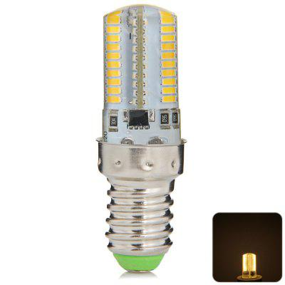 480LM E14 5W 80 SMD 3014 Mini Dimming Silicone Gel LED Corn Light ( 200  -  240V )