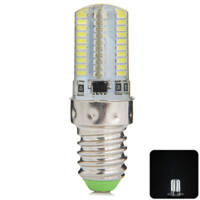 480LM E14 5W 80 SMD 3014 Mini Dimming Silicone Daylight LED Corn Light ( 200  -  240V )