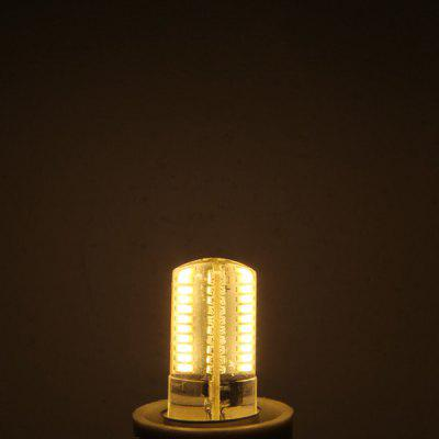 G4 5W 80 x SMD 3014 Dimming Silicone LED Corn Lamp Crystal Spotlight Bulb ( AC 200  -  240V )