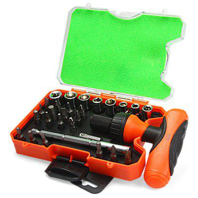 WLXY WL  -  2929 29pcs Portable Ratchet Screwdriver Hand Tool Set