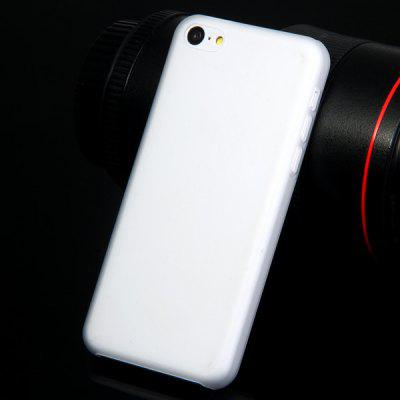 PC Material Transparent Matte Back Cover Case for iPhone 5C