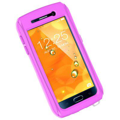 Practical Transparent Waterproof PU + TPC Protective Case for Samsung Galaxy S6