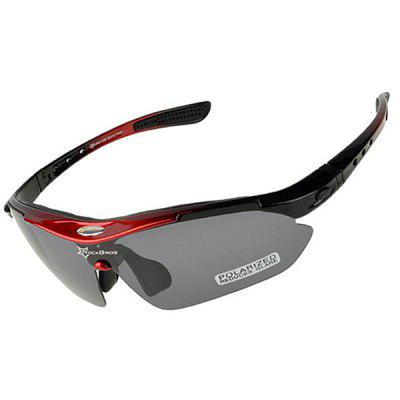 ROCKBROS Super Resilience Outdoor Sports Polarized Bicycle Sun Glasses for Men / Women