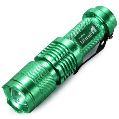 UltraFire Cree XPE Q5 Compact LED Zooming Flashlight