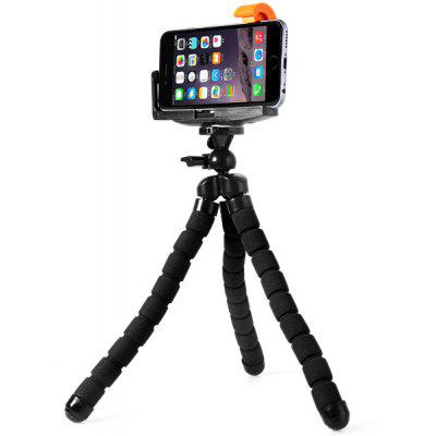 Sponge Cover Tripod Mount and Phone Clip Holder Set