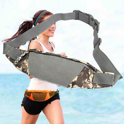 Outdoor Sports Canvas Waist Bag Camping Cycling Hiking Accessories
