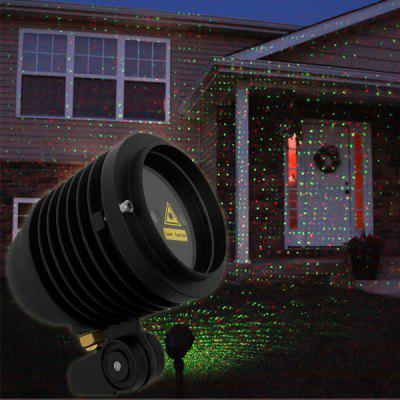 WP  -  003RG  -  2 650nm 532nm Laser Projector Light Green + Red Laser Light Garden Landscape Light for Outdoor Places / Party / Wedding / Festival