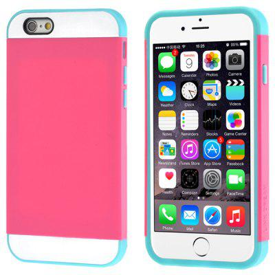 Link Dream Contrast Color PC and TPU Material Back Case for iPhone 6  -  4.7 inch