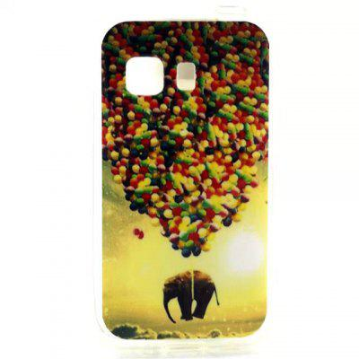 Practical TPU Balloon Elephant Pattern Phone Back Cover Case for Samsung Galaxy Young 2 G130