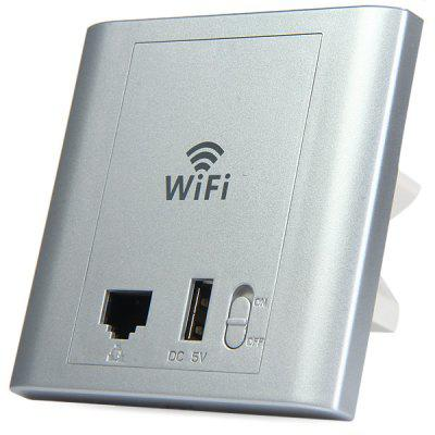 LAFALINK PW300U48C 300Mbps 2.4G Wireless InWall box Router PoE Access Point 24V USB Interface