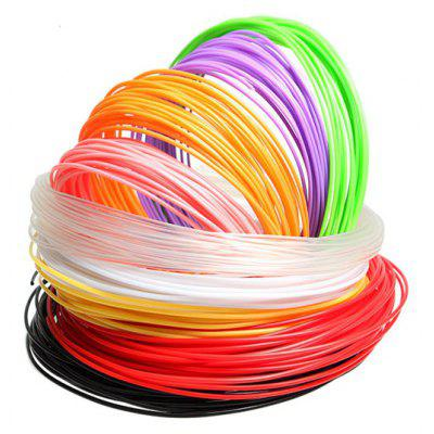 Sunlu 20pcs PLA 1.75mm 3D Printer Filament Supplies for Printing Pen 10m