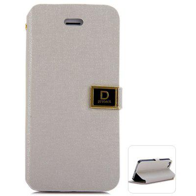 KINSTON Card Holder Design Support Protective Cover Case of PC and PU Material for iPhone SE / 5 / 5S
