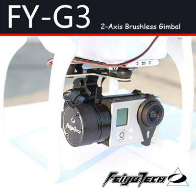 FeiYu Tech FY  -  G3 2 - Axis Brushless Gimbal for Gopro Hero 3 3+ Camera DJI Phantom F450 F550 RC Quadcopter