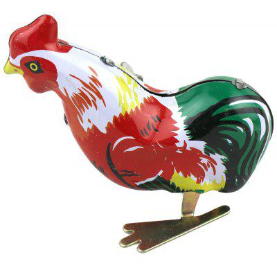 Mainspring Cock Chicken Animal Toy with Jumping Function