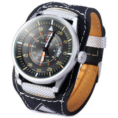 Naviforce Men Japan Quartz Watch