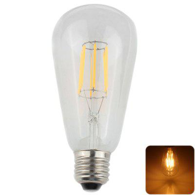 Zweihnder 6 x 1W E27 Antique Tungsten Filament Candle Light Chandeliers Lamp ( Soft White 550Lm AC 85  -  265V )
