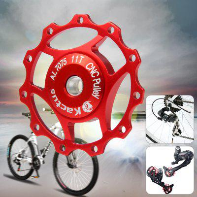 Kactus A10 CNC 11T Guide Roller Wheel Rear Derailleur Pulley with Alluminum Alloy Material for SHIMANO SRAM / 7 / 8 / 9 / 10 Speed