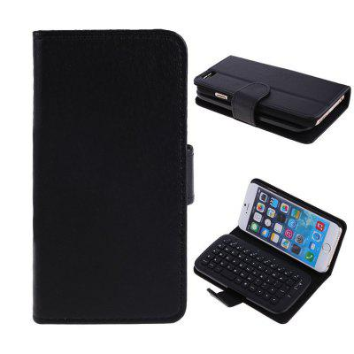 KB  -  6301 2 - in - 1 PU Leather Flip Case with Wireless Bluetooth Keyboard for iPhone 6 6S 4.7 inch