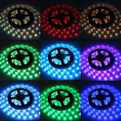 5 Meters 72W 150 SMD 5050 LEDs RGB Ribbon Light IP65 Water Resistance DIY Strip Lamp Kit  -  12V 5A
