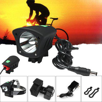 LR1  -  S 5 Modes Cree XML - U2 LED Headlight Headlamp Bicycle Light ( 1230LM 7000K )