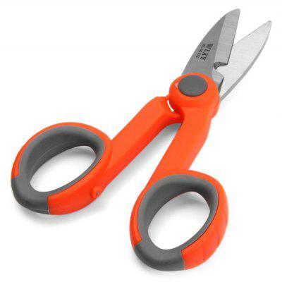 WLXY WL  -  9011Z Home / Office Used 3CR13 Stainless Steel Scissors with Sawtooth on One Blade
