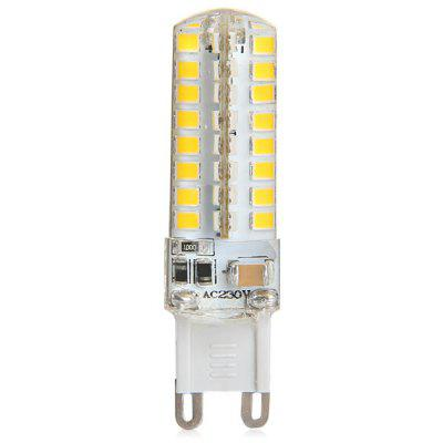 G9 10W 64 x SMD 2835 Silicone Gel LED Corn Lamp
