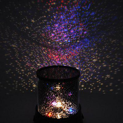 5V Starry Sky Star Projector Night Light for Kids Bedroom. Star Projector Lamp Starry Sky Night Light AA DC Powered   3 65