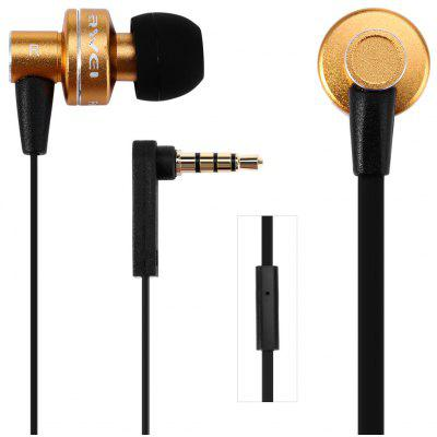 Awei ES  -  900i 1.2m Flat Cable Design In - ear Earphone with Mic for Smartphone Tablet PC