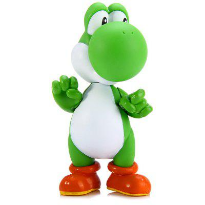 Yoshi Dragon Obrázok Model Super Mario Brother Minifigure PVC