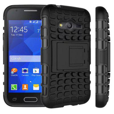 TPU and PC Material Back Cover Case for Sumsung Galaxy Ace 4