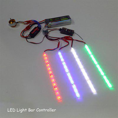 LED Light Bar Controller for RC Quadcopter X - copter Hexacopter