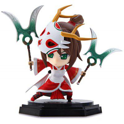 11cm LOL Model Akari League of Legends Figure Miniature