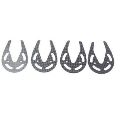 4Pcs Carbon Fiber Gear Motor Protection Rings For Parrot AR Drone 20