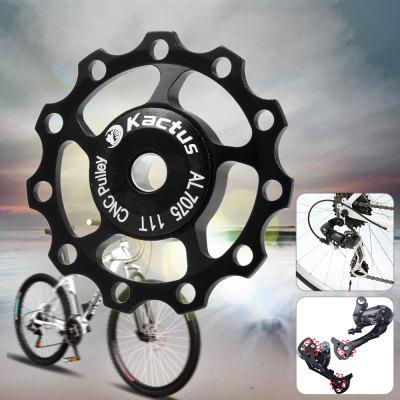 Kactus CNC 11T Guide Roller Wheel Rear Derailleur Pulley Alluminum Alloy Bicycle Parts for SHIMANO SRAM / 7 / 8 / 9 / 10 Speed